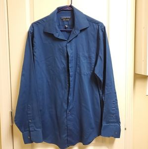 Geoffrey Beene men's button up shirt LG